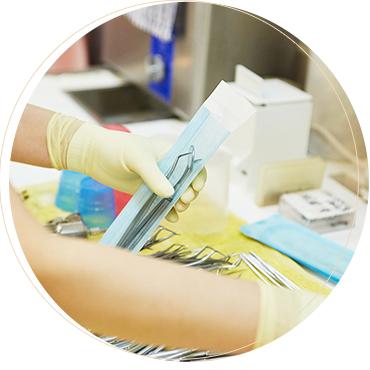 世界最高レベルの超滅菌対策で安全・安心診療