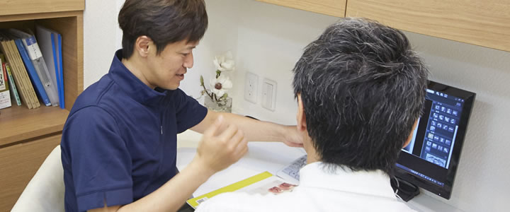 インプラント治療のリスク説明